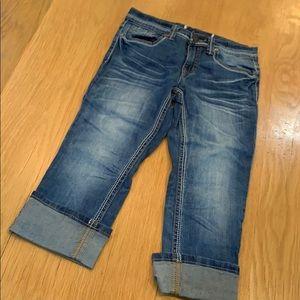 Vigoss Faded Crop Girls Jeans 👖 Size 10